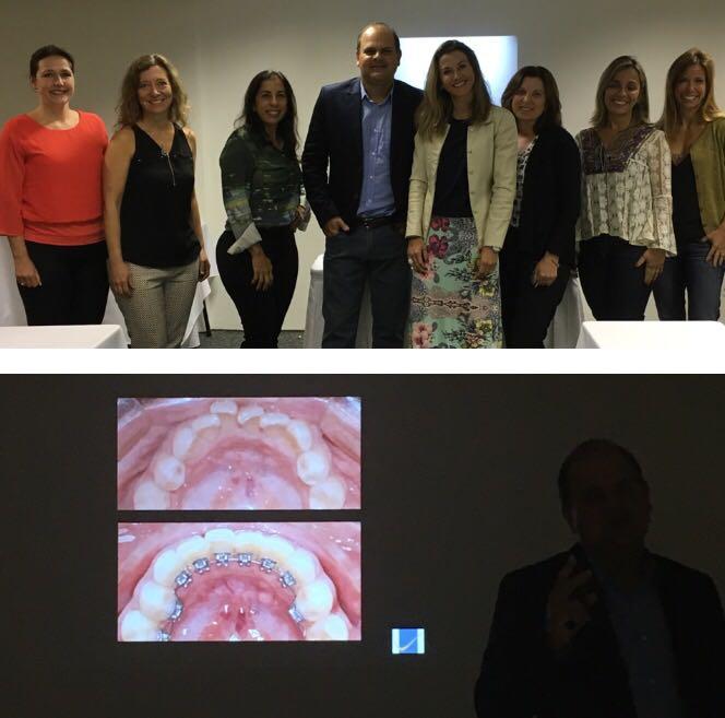 Dra. Carolina participou recentemente da Atualização em Ortodontia Lingual.