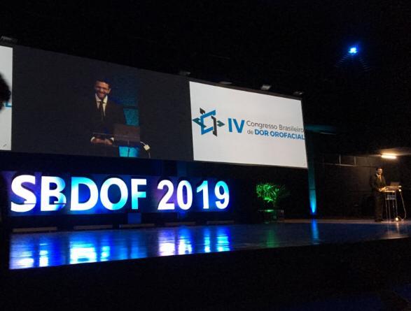 """Participação no IV Congresso da Sociedade brasileira de Dor Orofacial - USP"""""""