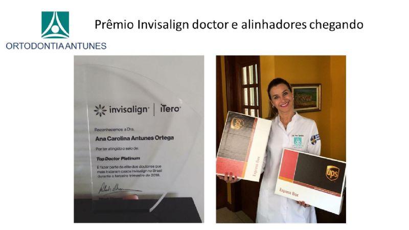 Prêmio Invisalign doctor e alinhadores chegando